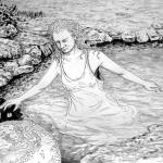 Sinking in water